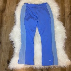Nike Blue & Teal Jogger Pants Size Small